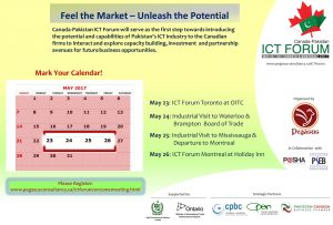 Pakistan Canada Business Chamber Presents ICT Forum Montreal